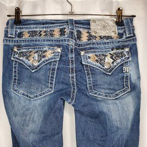 Miss Me Mid Rise Boot Leg Jeans